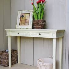 Ivory Console Table Console Table Beautiful Ivory Wooden Drawer With Distressed