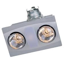 a515aw aero pure fan a515a w 2 bulb quiet bathroom heater fan
