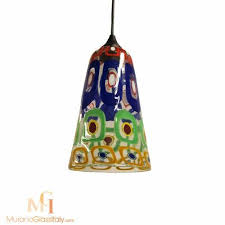 15 best collection of murano glass lights pendants
