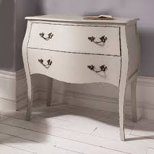 taupe french style bombe chest shabby chic style decorative