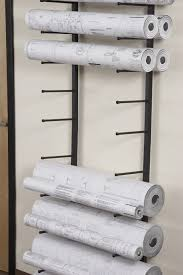 library solution storing blueprints posters maps when flat vis i rack for large rolled documents such as blueprints plans and architectural