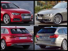 audi a4 comparison photo comparison 2016 bmw 3 series vs 2017 audi a4