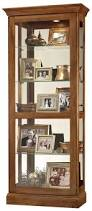 Contemporary Shelving Curio Cabinet Contemporary Curio Cabinet With Mirrored Frame And