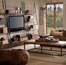 libreria tv loft trapezoidale mobile tv mobili in ferro americano libreria in
