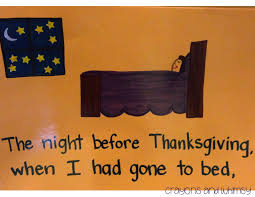 Twas The Night Before Halloween Poem Crayons And Whimsy The Night Before Thanksgiving