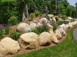 Boulder Landscaping Ideas 13 Best Natural Rockery Images On Pinterest Michigan Lawn