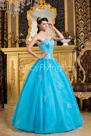 dresses for sweet 15 simple sweetheart gown floor length blue sweet 15 dresses