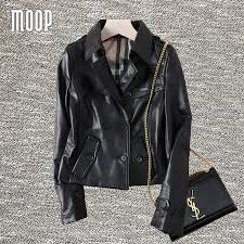 real leather motorcycle jackets compare prices on lambskin leather jackets online shopping buy