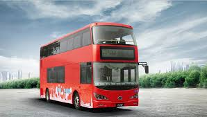 first all electric london double decker bus in service made in