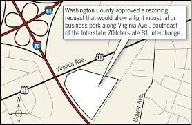 Washington County Map by Washington County Approves Rezoning For Virginia Avenue Site