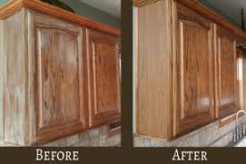 Pickled Cabinet Finish A Kitchen Touch Up Cabinet Refreshing Centercabinet Refreshing