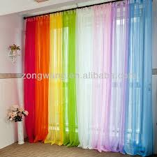 Rainbow Curtains Childrens Best 25 Voile Curtains Ideas On Pinterest Sheer Curtains