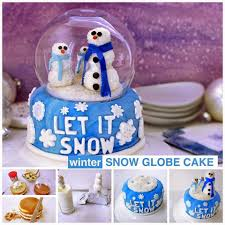 thanksgiving snow globe how to make a snow globe cake pictures photos and images for