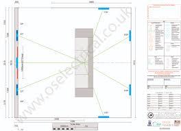 plan view o s e media cinema media room design