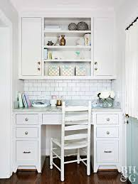 kitchen office furniture our best home office decorating ideas better homes gardens