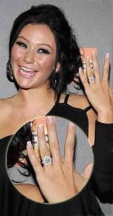 Engagement Ring Vs Wedding Ring by Snooki Vs Jwoww Whose Engagement Ring Was Way More Expensive