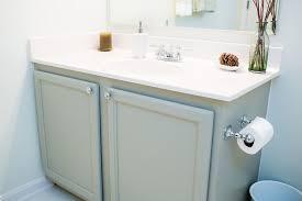 best paint for oak bathroom cabinets guest bath mini makeover oak bathroom vanity diy bathroom