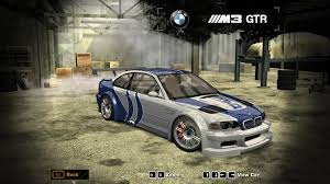 Bmw M3 Gtr - need for speed most wanted bmw m3 gtr kuruhs vinyl nfscars