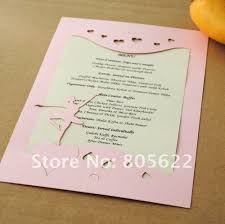Personal Wedding Invitation Cards Invitation Card Models Picture More Detailed Picture About New