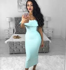 light blue dress mayda light blue the shoulder dress storey boutique