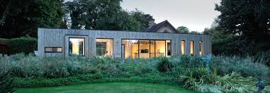 barn like homes beautiful prefab box is a modern light filled extension to a