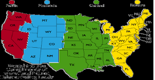 Ky Time Zone Map by Usa Time Zone Map Current Local Time In Usa Us Time Zones Google
