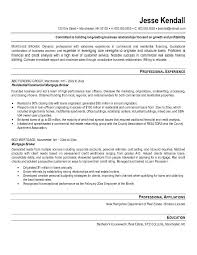 Call Center Agent Resume Sample Free Mortgage Broker Resume Example