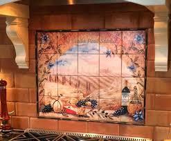 mural tiles for kitchen backsplash backsplash tile mural kitchen tile murals tile art studio ceramic