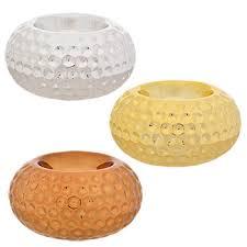 silver tea light holders bulk round glass tealight candleholders with metallic finish at