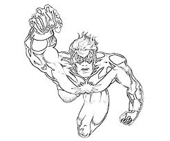 flying marvel coloring pages 4651 marvel coloring pages