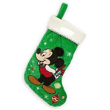 amazon com disney store mickey mouse christmas stocking plush