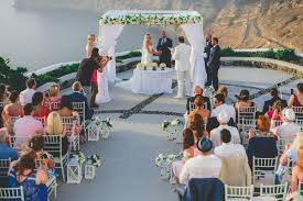 beautiful wedding beautiful wedding in santorini beverley charles chic