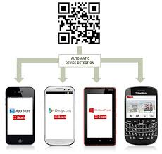 Iphone 4 Scan Qr Code by Qr Codes For App Store Downloads Qrstuff Com