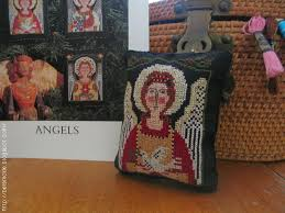 ornaments made from cross stitch patterns belznickle