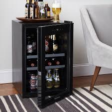 73 bottle evolution series dual zone wine refrigerator glass door