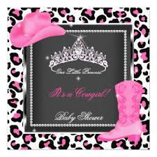 pink cow baby shower invitations pink baby shower invitations