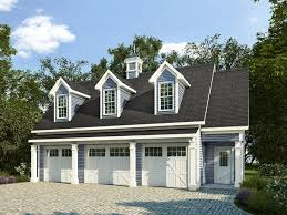 One Car Garage Apartment Plans 019g 0008 Country Style Carriage House Plan Offers 3 Car Garage