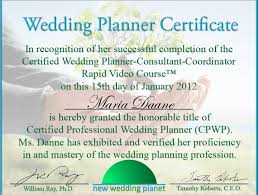 wedding planner certification course wedding planning certification wedding ideas vhlending