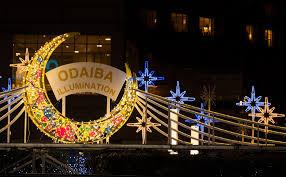 odaiba illumination tips u0026 info travel caffeine