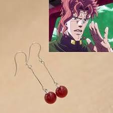 jojo s earrings jojo s adventure stardust crusaders race bracelet kakyoin