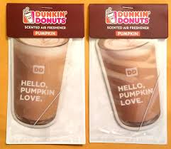 Pumpkin Spice Dunkin Donuts 2017 by Amazon Com 2x Dunkin Donuts Pumpkin Flavored Scented Car Air