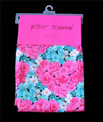 betsey johnson bursting bouquet floral leopard skull candy shower
