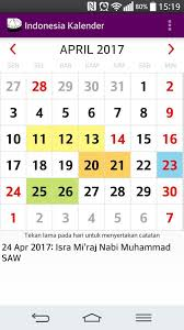 Kalender 2018 Hari Libur Indonesia Kalender Indonesia 2017 2018 Adfree Widget Android Apps On