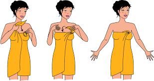 serviette de bain bio pareo de sortie de bain les tendances d u0027emma eml distribution
