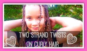 3a Curly Hair Extensions by Two Strand Twists On Curly Hair 3a 3b Hair Youtube