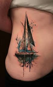 11 sailboat tattoo designs for men and women