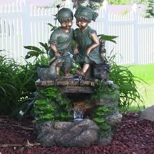 children sculpture fountains water fountains with children statues