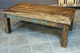 reclaimed timber coffee table recycled wood coffee tables recycled wood coffee table recycled
