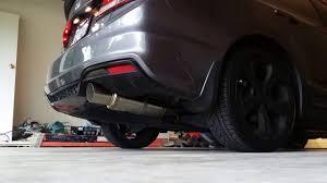 2014 Honda Civic Si Sedan Specs Buddy Club Pro Spec Axle Back On 2014 Honda Civic Si Youtube