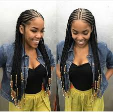 black braids hairstyle for sixty shared by boop find images and videos on we heart it the app to